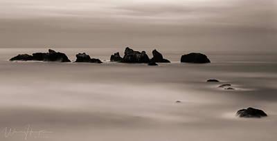 Photograph - Pacific Ocean Coastline, Oregon, USA - 8712 by Wally Hampton