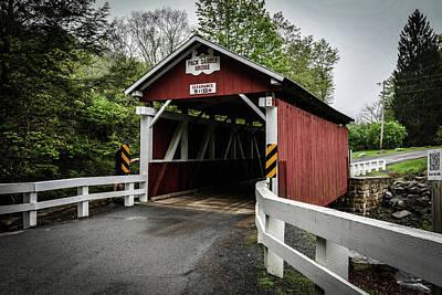 Target Threshold Nature - Packsaddle Bridge Entrance by Michael Hills