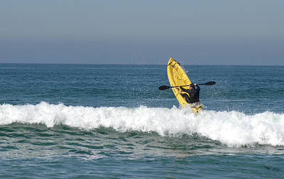 Bringing The Outdoors In - Paddling Out  by David Shuler
