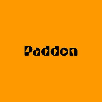 Digital Art - Paddon by TintoDesigns