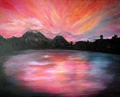 Painting - Pagan Island by Michelle Pier