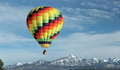 Impressionist Landscapes - Pagosa Springs Balloon Fest-5 by Mark Langford