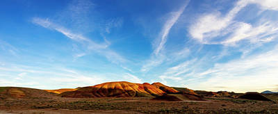 Landscapes Royalty-Free and Rights-Managed Images - Painted Hills 3 by Pelo Blanco Photo