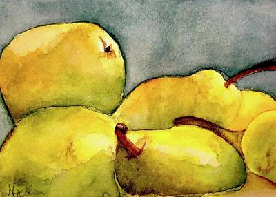 Royalty-Free and Rights-Managed Images - Pairs of Pears by Nicole Curreri