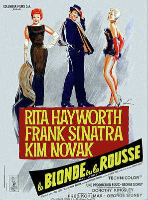 Royalty-Free and Rights-Managed Images - Pal Joey, with Rita Hayworth and Frank Sinatra, 1957 by Stars on Art
