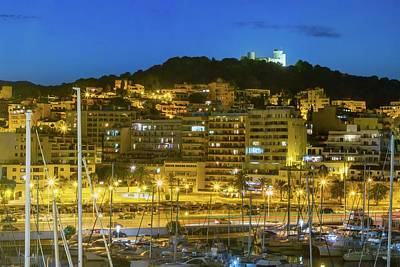 Fantasy Royalty-Free and Rights-Managed Images - Palma by night by James Lamb