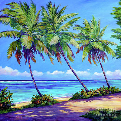 Royalty-Free and Rights-Managed Images - Palms at the Islands End Square by John Clark