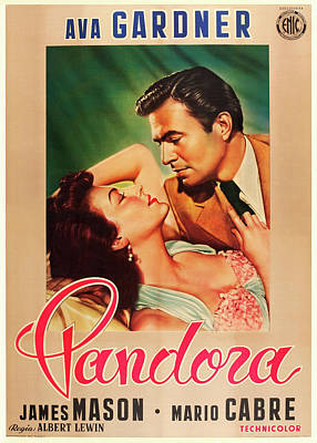 Royalty-Free and Rights-Managed Images - Pandora and the Flying Dutchman, with James Mason and Mario Cabre, 1951 by Stars on Art