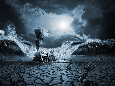 Surrealism Digital Art - Panic Attack  by George Grie