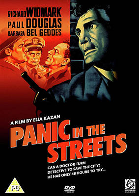 Mixed Media Royalty Free Images - Panic in the Streets movie poster 1950 Royalty-Free Image by Stars on Art