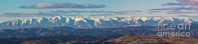 Steven Krull Royalty-Free and Rights-Managed Images - Pano of Clear Skies on the Sangre by Steven Krull