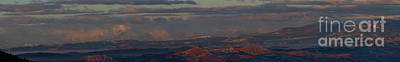 Steven Krull Royalty-Free and Rights-Managed Images - Panorama Spectacular Sunrise on the Sangre de Cristo by Steven Krull