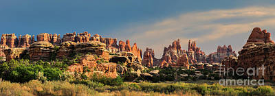Stellar Interstellar Royalty Free Images - Panoramic view from Chesler Park, Canyonlands NP, Utah Royalty-Free Image by Henk Meijer Photography