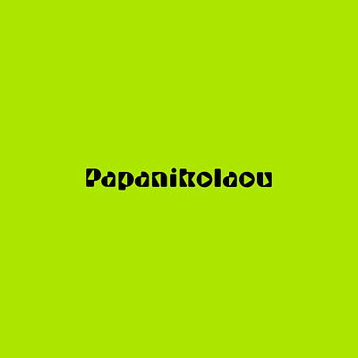 Royalty-Free and Rights-Managed Images - Papanikolaou by TintoDesigns