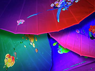 Photograph - Paper Parasols by Paul Wear