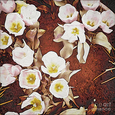 Photograph - Paper Tulips 1 by Onedayoneimage Photography