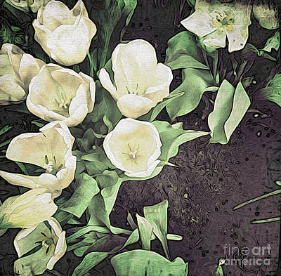 Photograph - Paper Tulips 2 by Onedayoneimage Photography