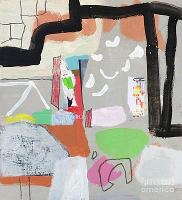 Painting - Par hasard by Diane Desrochers