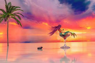 Surrealism Digital Art - Paradise by Betsy Knapp