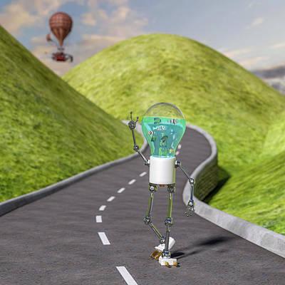 Surrealism Digital Art - Parallels  by Betsy Knapp