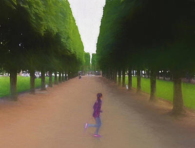 Painting - Paris 2020 - 4428d by Albert Vatveri Studio