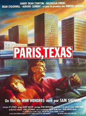 Royalty-Free and Rights-Managed Images - Paris, Texas, 1984 by Stars on Art