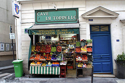Lake Life - Parisian Produce Stand by Everett Spruill