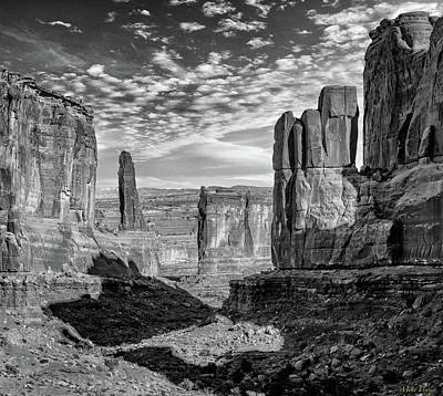 From The Kitchen - Park Avenue BW Utah by Mike Penney