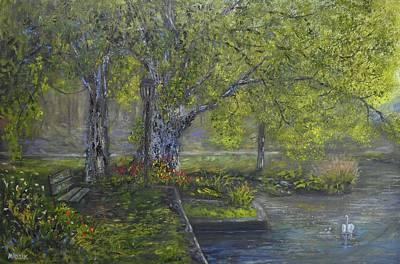 Painting - Park Place by Michael Mrozik
