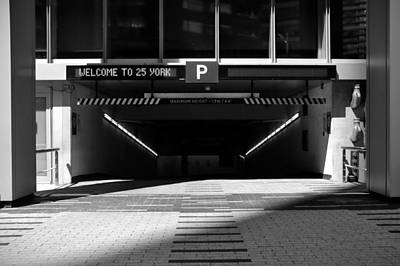 Rights Managed Images - Parking Entrance Royalty-Free Image by Valentino Visentini