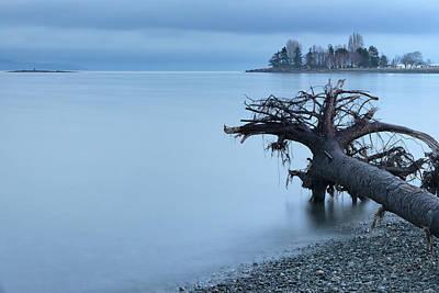 Thomas Kinkade - Parksville Bay Blue Hour by Randy Hall