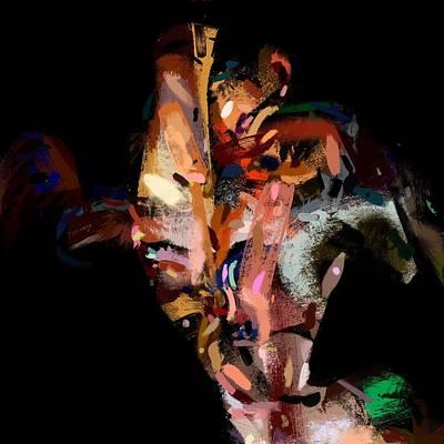 Digital Art - Party Animal No. 2 by Matthew Daigle