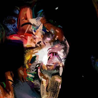 Digital Art - Party Animal No. 3 by Matthew Daigle