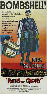 Mixed Media Royalty Free Images - Paths of Glory, with Kirk Douglas, 1957 Royalty-Free Image by Stars on Art