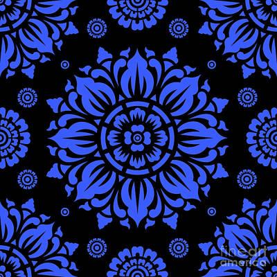 Miles Davis - Pattern Art 01-11 Bb by Bobbi Freelance