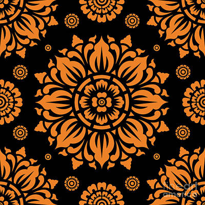 Miles Davis - Pattern Art 01-11 Bo by Bobbi Freelance