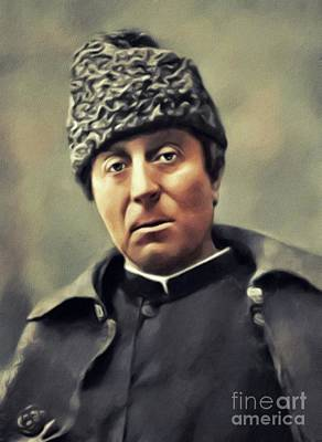 Surrealism Royalty Free Images - Paul Gauguin, Artist Royalty-Free Image by Esoterica Art Agency
