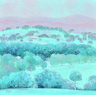Grateful Dead - Peaceful Days country landscape by Jan Matson