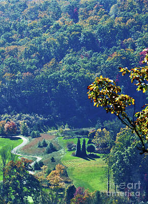 Keith Richards - Peaceful Mountain Valley by Sharon Williams Eng