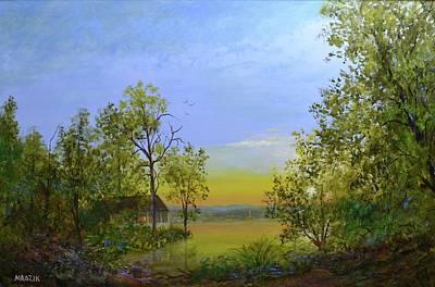 Painting - Peaceful Retreat by Michael Mrozik