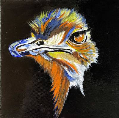 Painting - Peacock With Attitude by Mary Beth D'Aloia