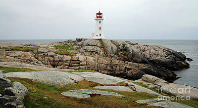 Boho Christmas - Peggys Cove Lighthouse Nova Scotia  5914 by Jack Schultz