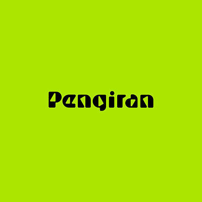 Royalty-Free and Rights-Managed Images - Pengiran by TintoDesigns