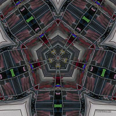 Digital Art - Pentakaleidogram #21062 by Brian Gryphon
