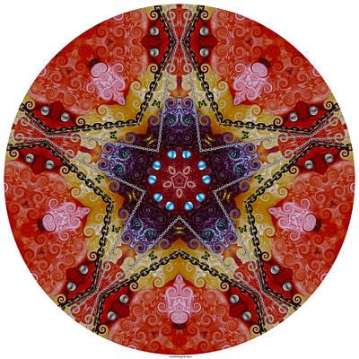 Digital Art - Pentakaleidogram #420 by Brian Gryphon
