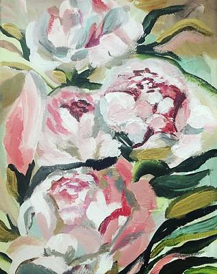 Painting - Peonies by Meredith Palmer