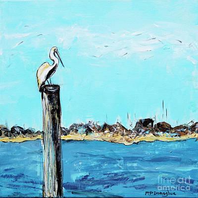 Pasta Al Dente - Perched Pelican by Patty Donoghue