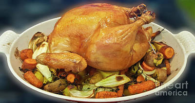 Sean Rights Managed Images - Perfect Roasted Chicken Royalty-Free Image by Julieanne Case