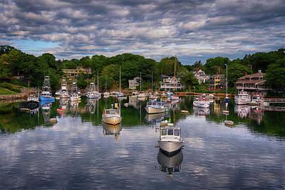 Vintage Movie Stars - Perkins Cove - Maine by Joann Vitali