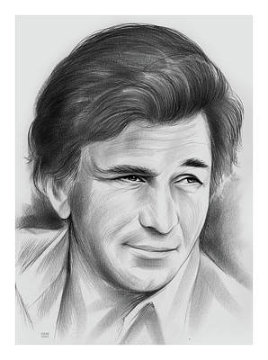 Drawings Royalty Free Images - Peter Falk - pencil Royalty-Free Image by Greg Joens